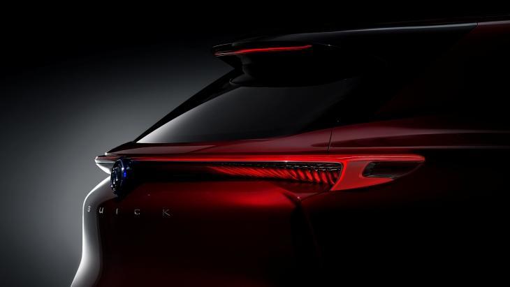 Buick новый электрокроссовер Enspire ианонсировал дебют вПекине