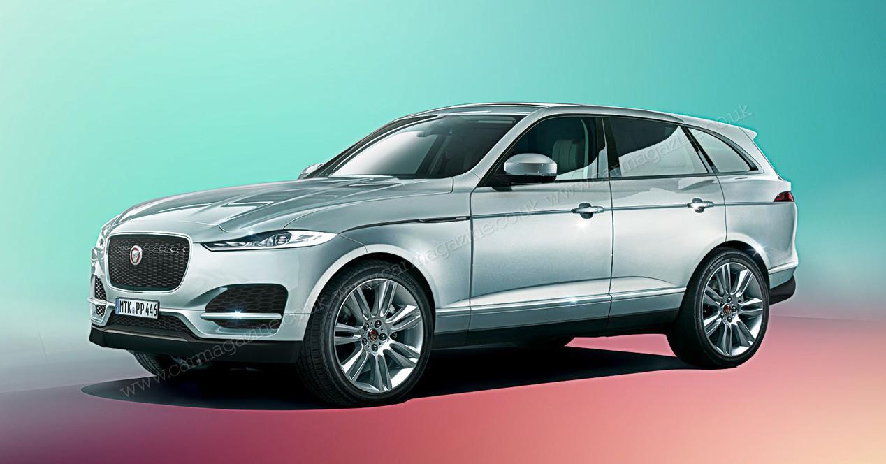 Jaguar анонсировал новый большой кроссовер J-Pace