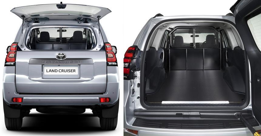 Тойота выпустила новый Land Cruiser Prado вкузове фургон
