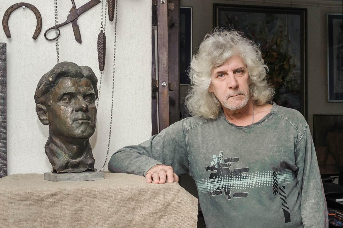 На62-м году ушел изжизни кубанский художник Василий Беда
