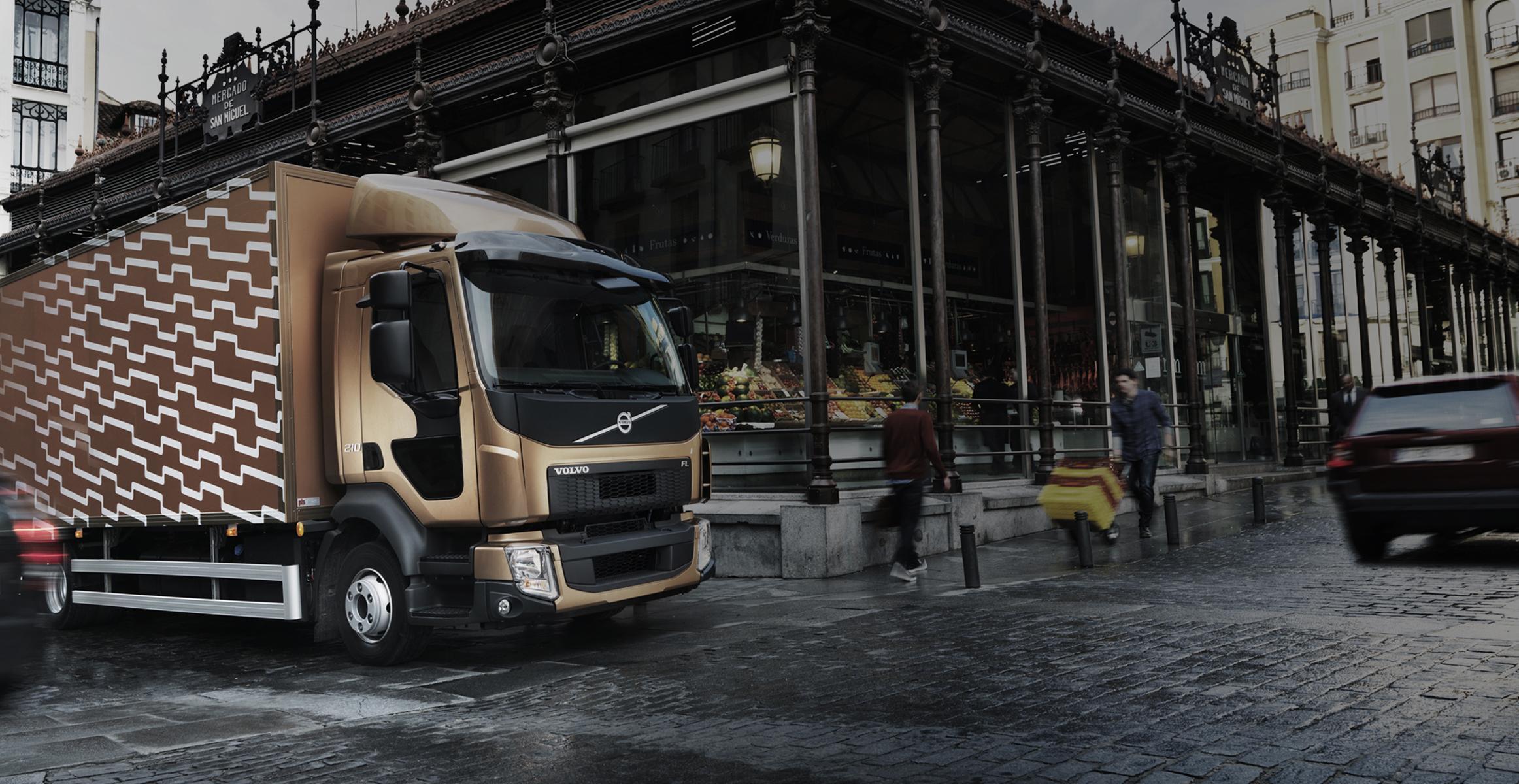 Компания Вольво Trucks представила свой 1-ый навсе 100% электрический грузовой автомобиль