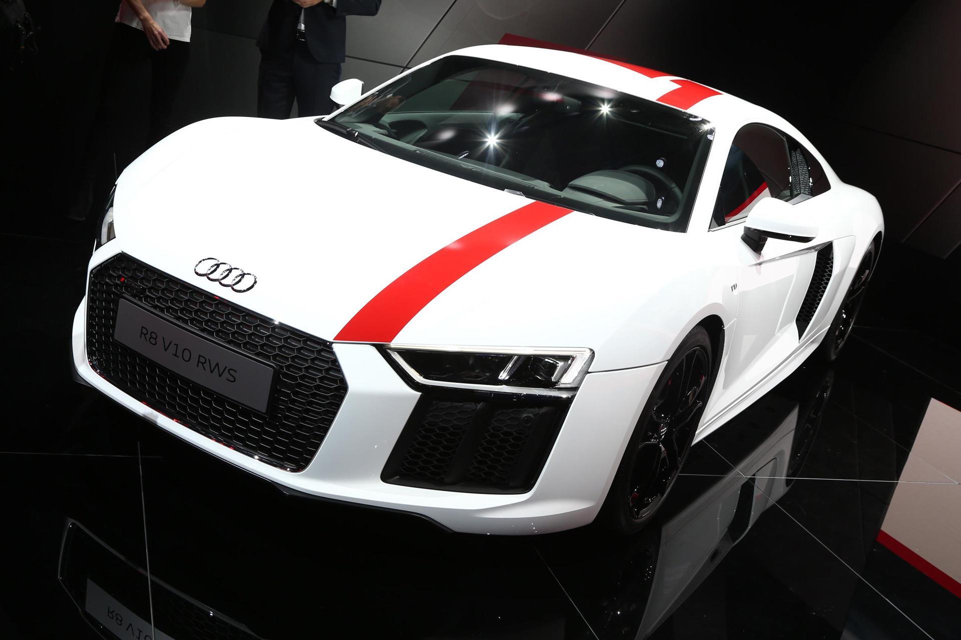 Audi R8 RWS проходит предпродажные тесты без камуфляжа