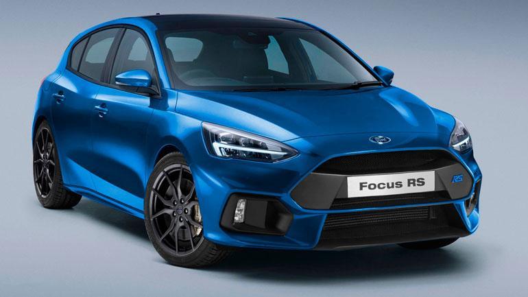 Вweb-сети опубликовали рендеры «заряженного» Форд FocusRS
