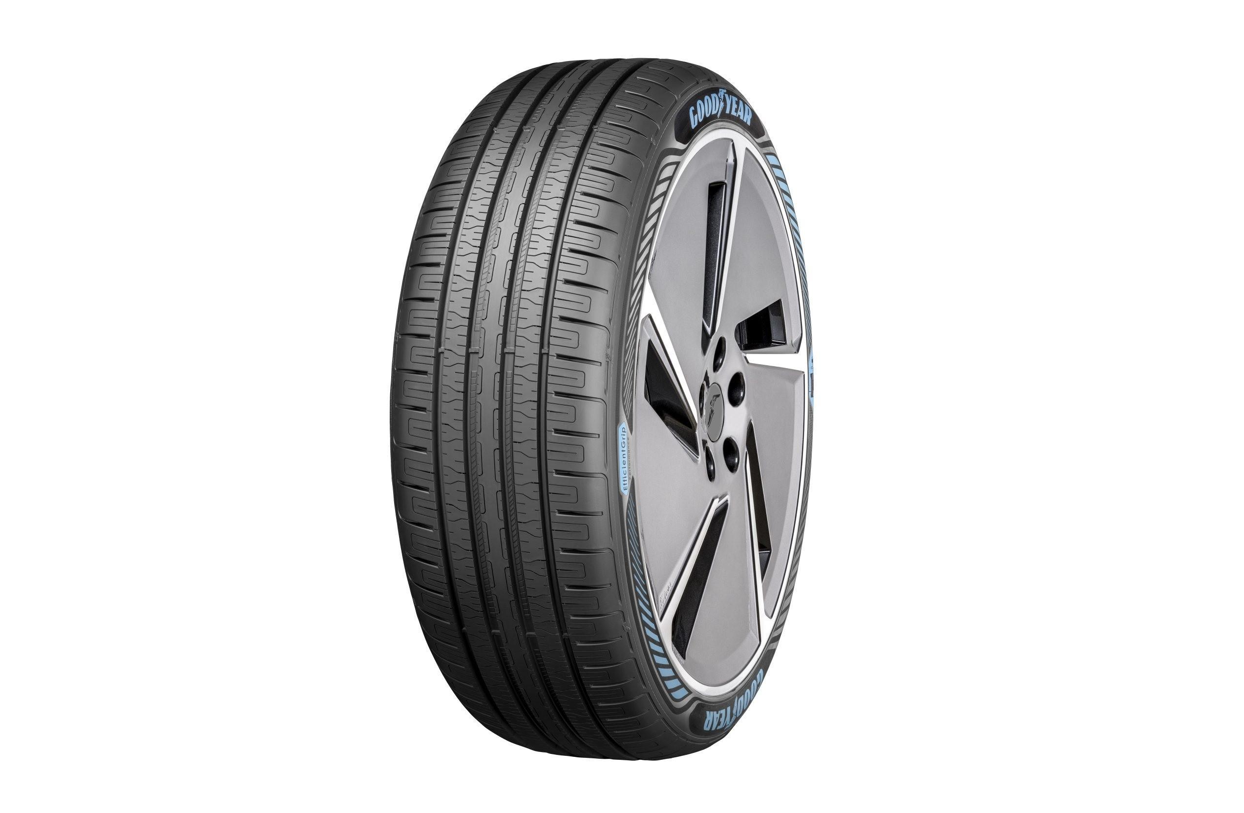 Как работает новая шина Goodyear EV? (видео)
