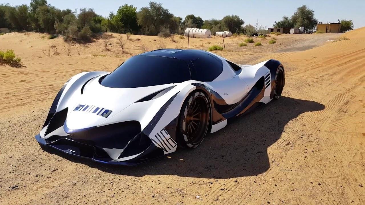 Роскошный  суперкар Devel Sixteen презентован навидеоролике