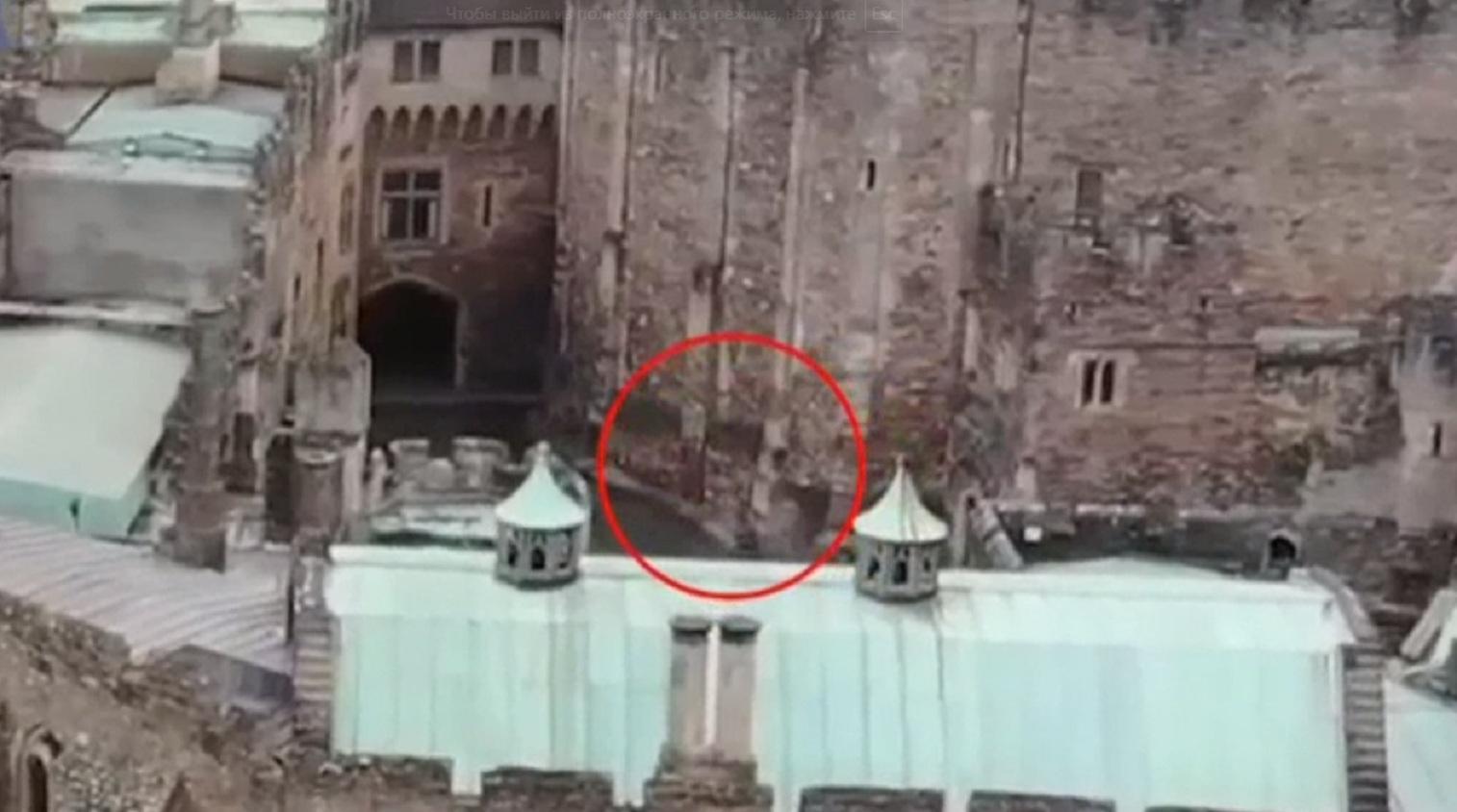 Англичанин снял навидео призрака изстаринного замка