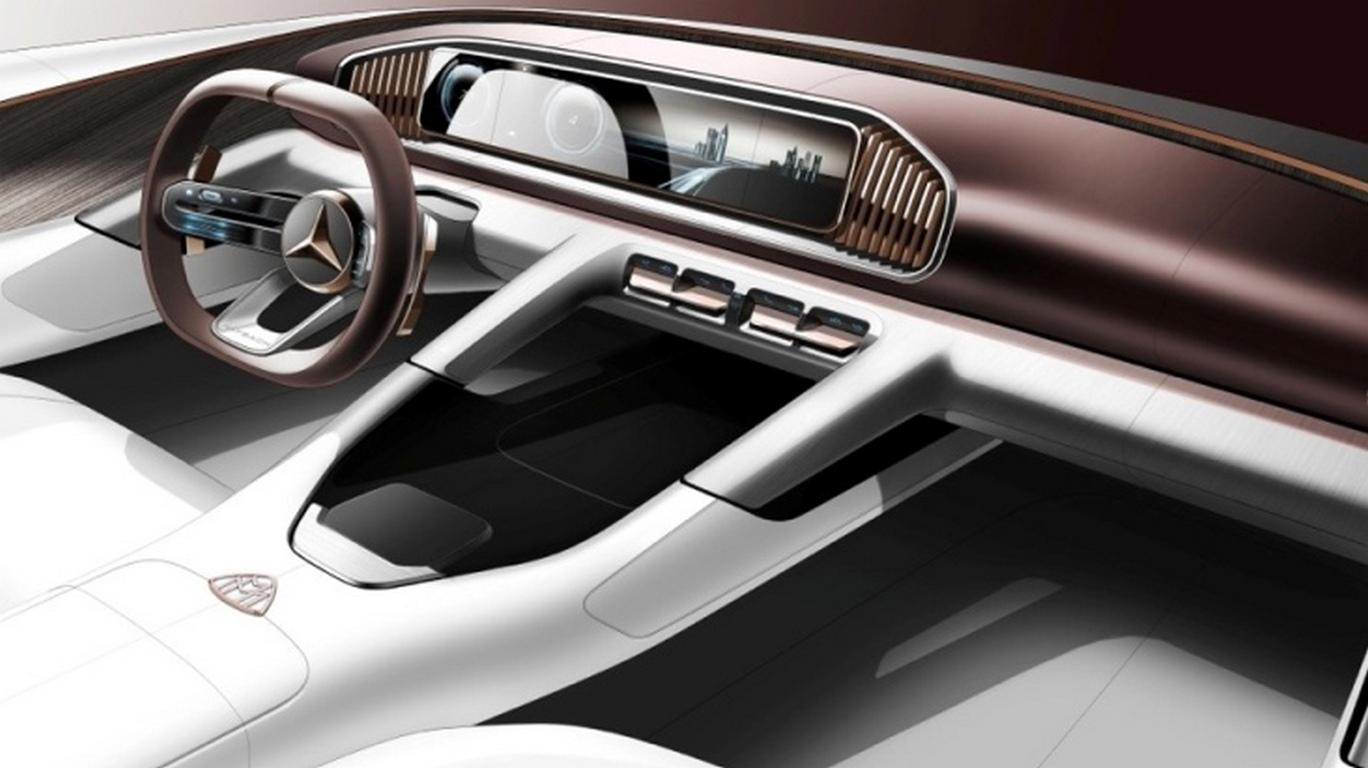 Прототип кроссовера Mercedes-Maybach покажут встолице Китая