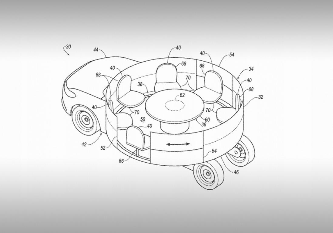 Кто успел, тот исел: Форд запатентовал автомобиль-карусель