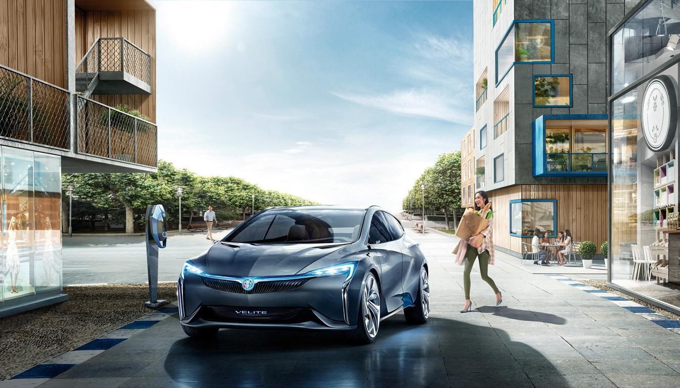 В «Поднебесной» дебютируют электрический игибридный Buick Velite 6
