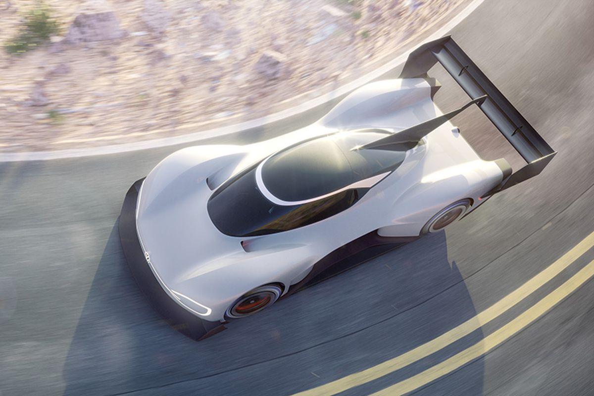 Фольксваген представил 680-сильный электромобиль