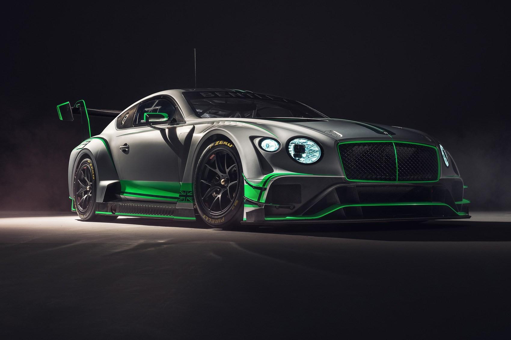 Кдебюту готовится новое экстремальное купе Бентли континенталь GT3