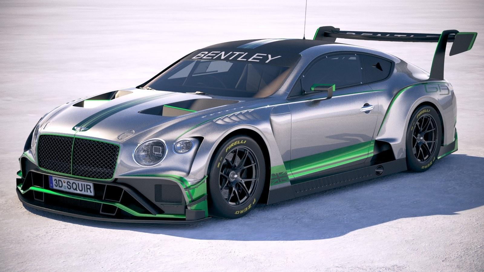 В Бентли готовятся квыходу гоночного Бентли континенталь GT3
