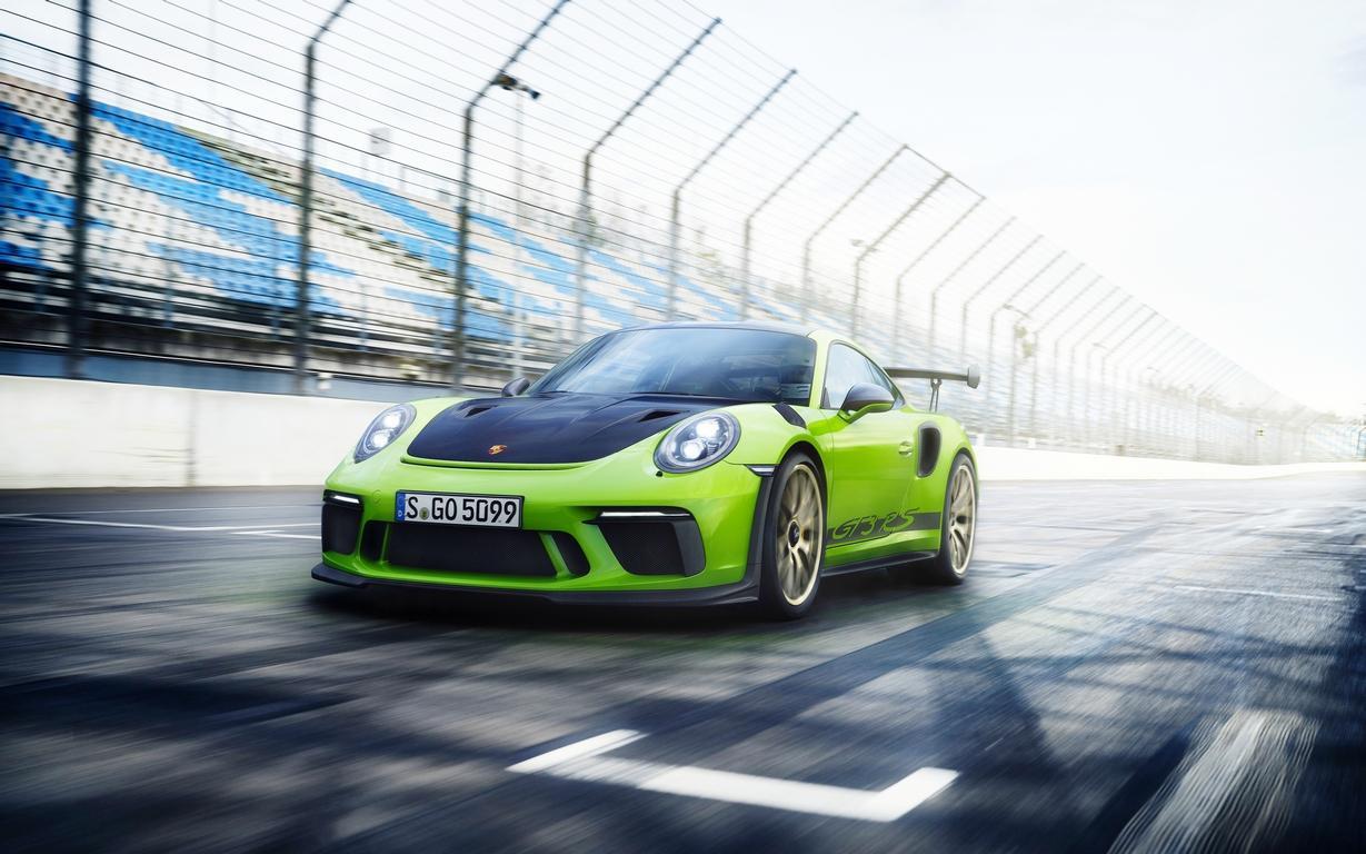 Новый Порш 911 GT3 RSпроехал круг по«Нордшляйфе» скорее 7 мин.