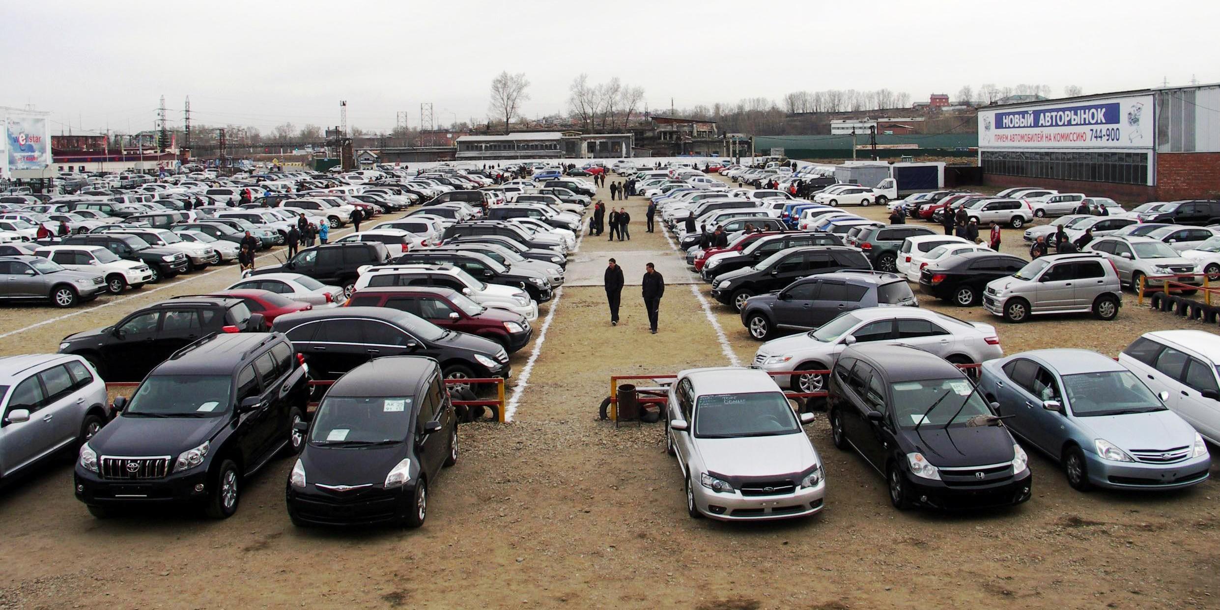 Размещена статистика продажи подержанных авто в РФ