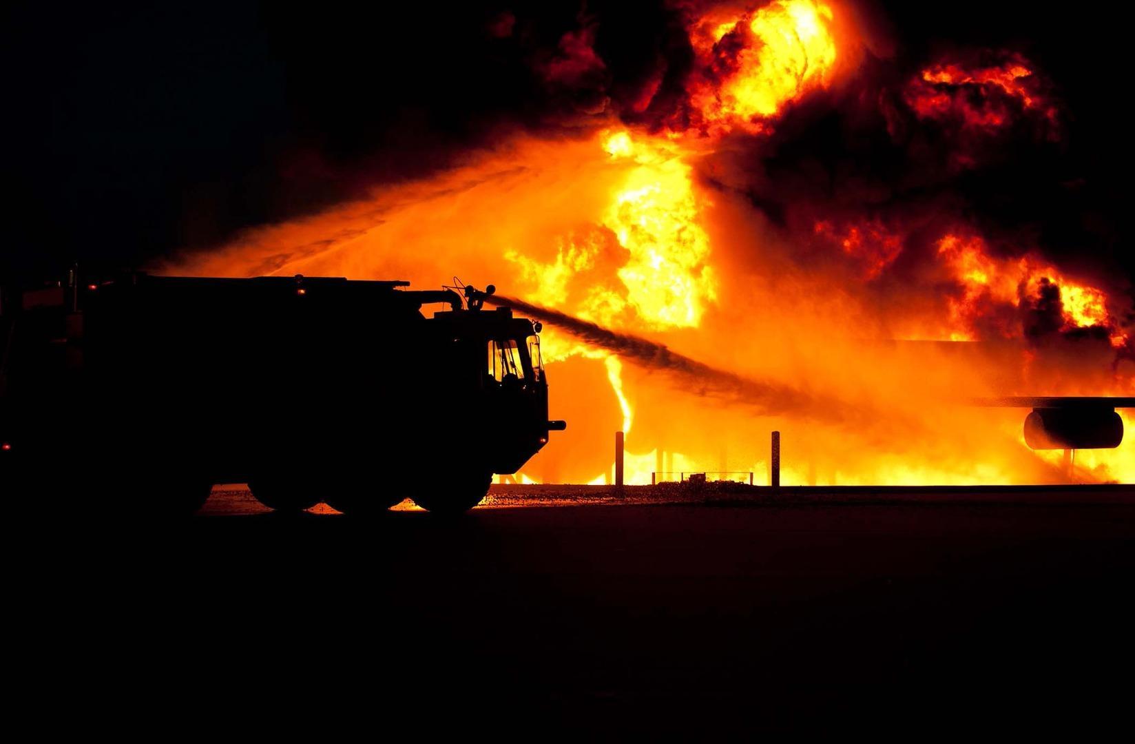Появилось видео пожара нанефтяной скважине вТатарстане