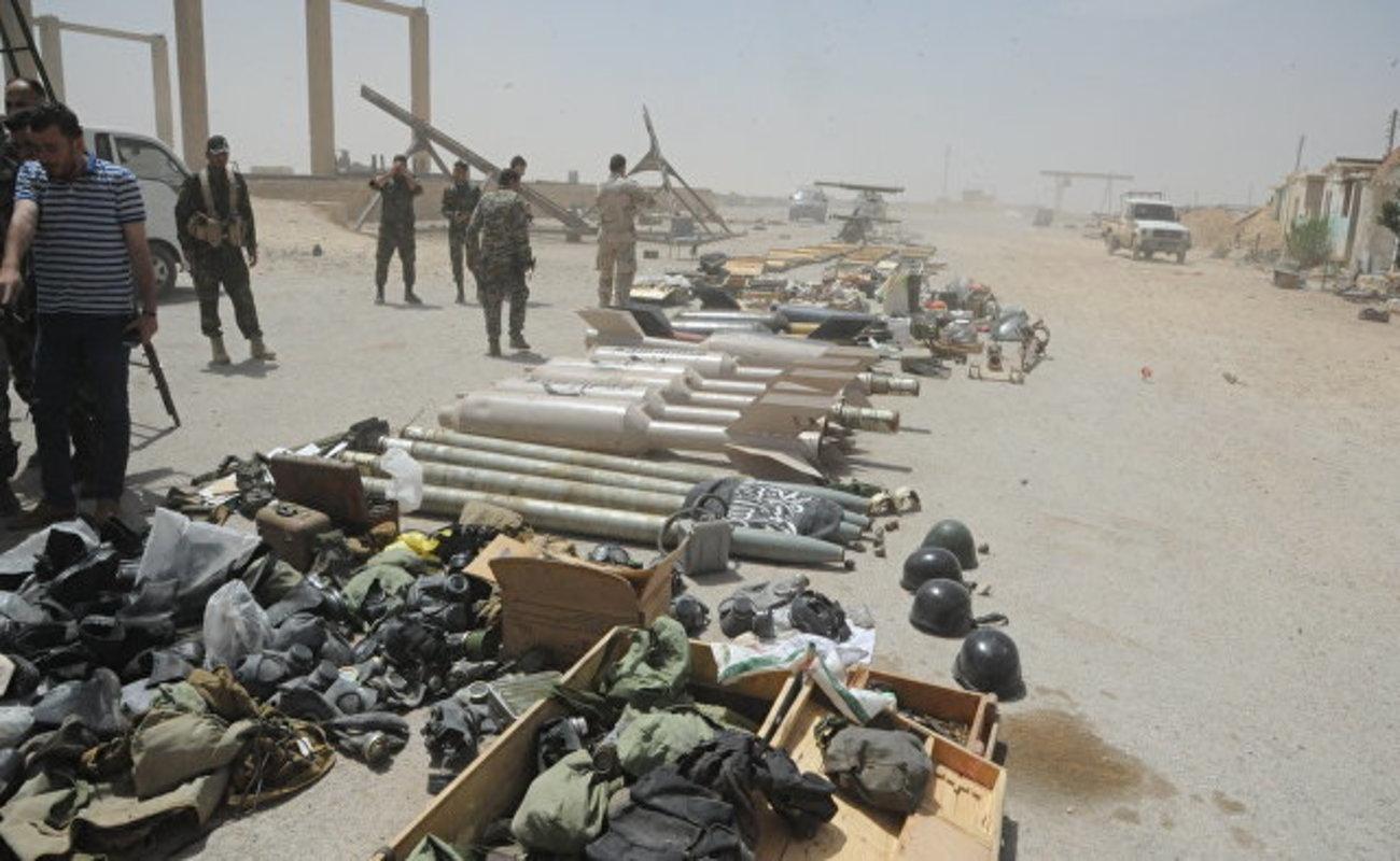 Сирийские военные обнаружили американские ракеты варсенале боевиков вДумейре