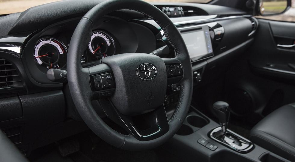 Обновлённый Тойота Hilux для Европы: пока ввиде спецверсии