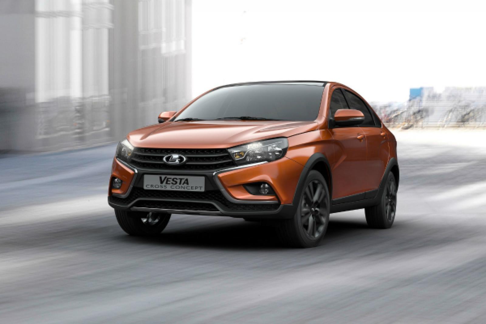 «АвтоВАЗ» начнет продавать Lada Vesta Cross летом