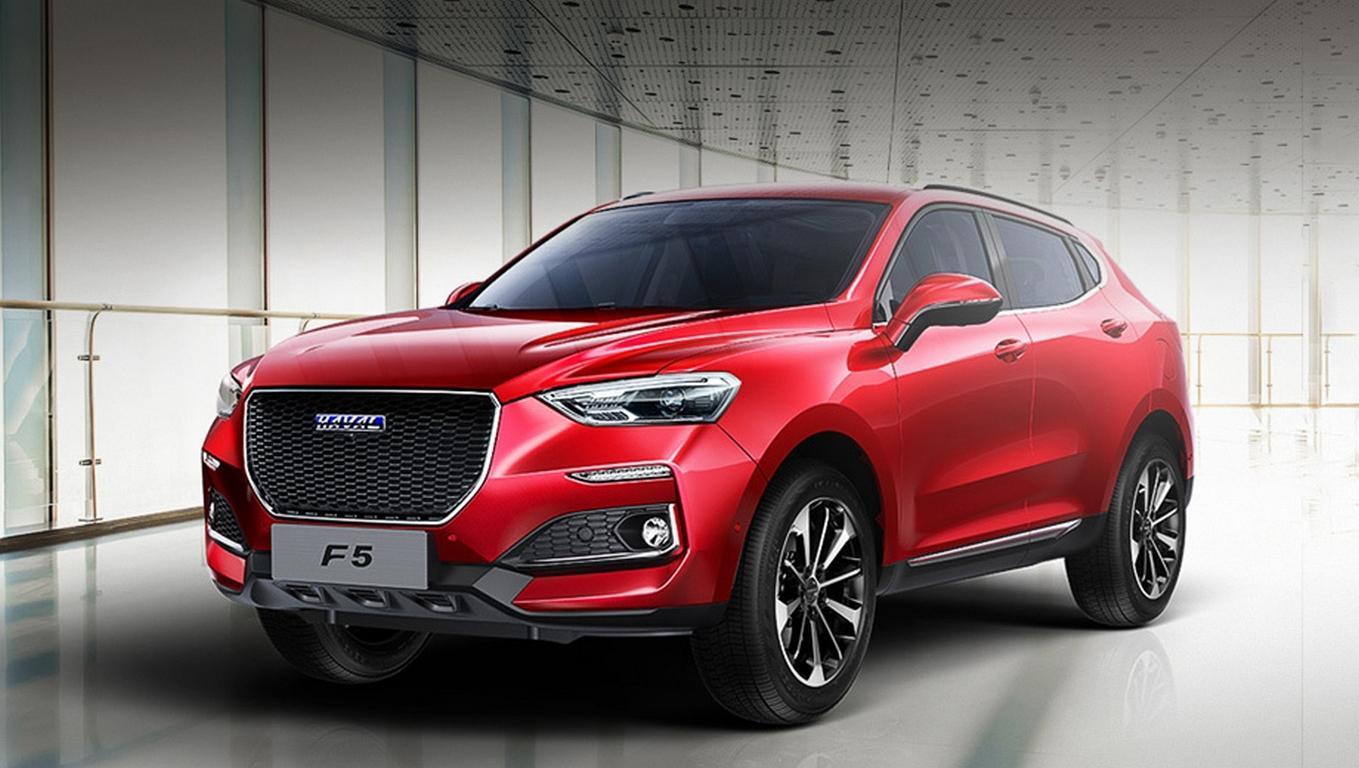 Грейт Вол на автомобильном салоне встолице Китая представит спортивное кросс-купе Haval F5
