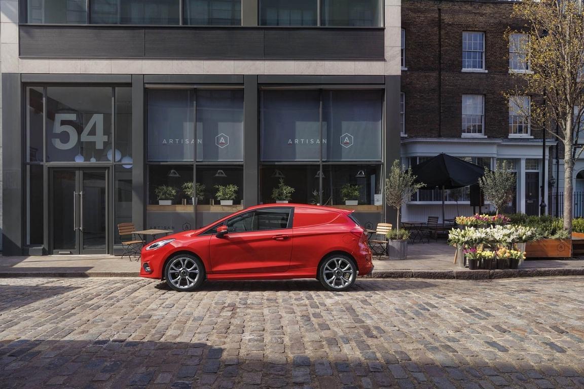 Ford Fiesta превратили вразвозной фургон