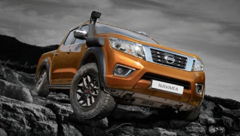 Nissan представил «экстремальный» пикап Navara Arctic Trucks