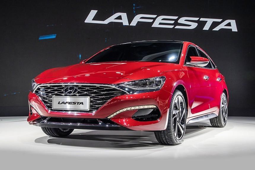 Hyundai представила абсолютно новый молодёжный седан Lafesta