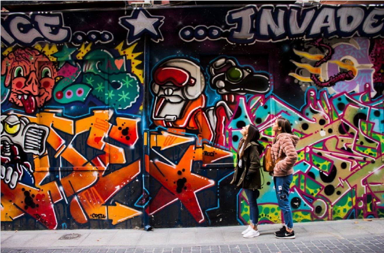 В столице России перед ЧМ-2018 будут рисовать граффити поправилам