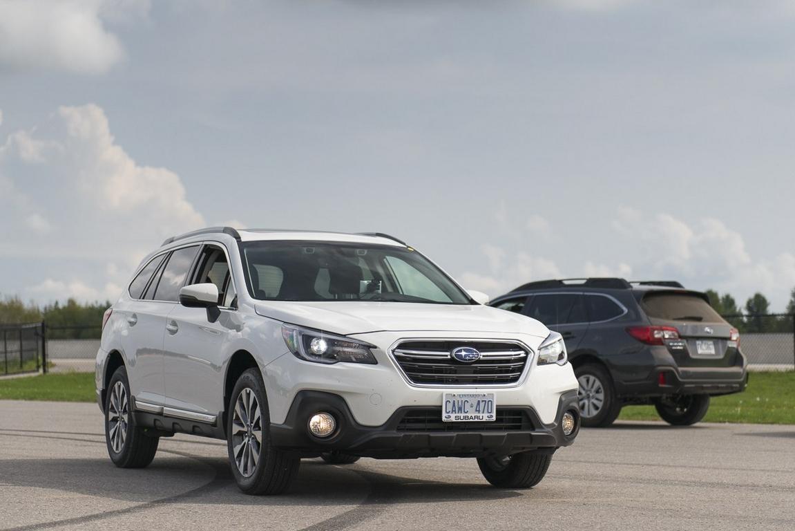 В Россию прибыл обновленный универсал Subaru Outback