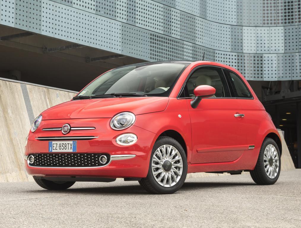 Fiat 500 в марте впервые вошел в топ-10 европейских бестселлеров