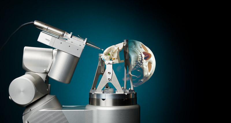 ВНидерландах создали робота для проведения операций начерепе