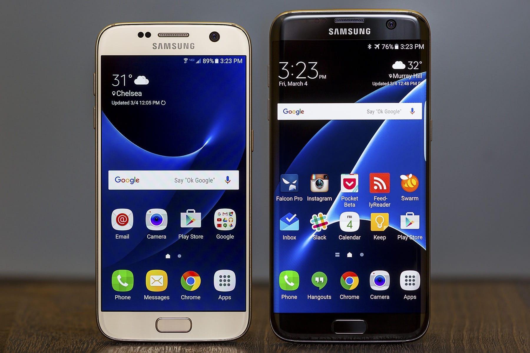Мобильные телефоны Galaxy S7 иS7 edge начали получать андроид 8.0 Oreo