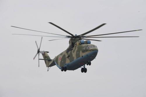 Производство первого вертолета Ми-26Т2В скоро закончится