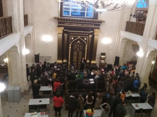 Экскурсию в синагоге Воронежа посетили 400 человек