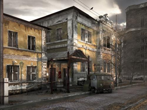 Разрушенный жилой дом в Москве будет снесен