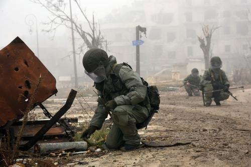 Франция: Россия скрывает доказательства химической атаки в Сирии