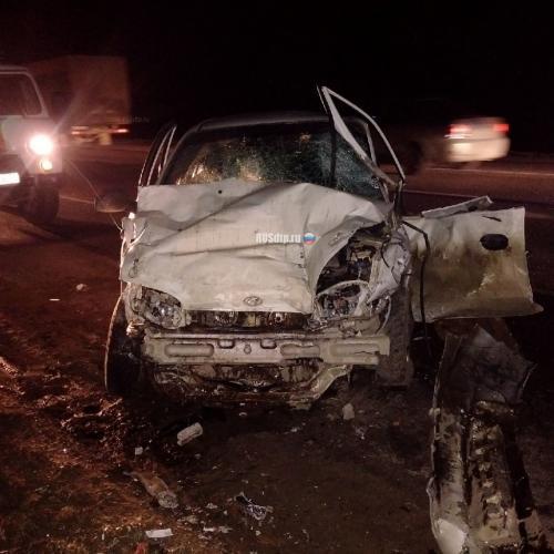 В Тульской области двое человек погибли в результате жуткого ДТП