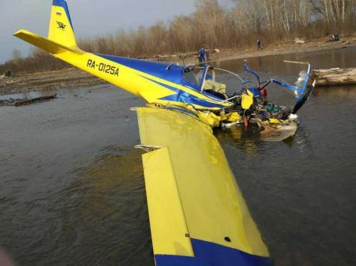 В Хакасии разбился частный легкомоторный самолет