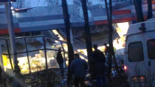 В Рыбинске обрушилась крыша местного супермаркета
