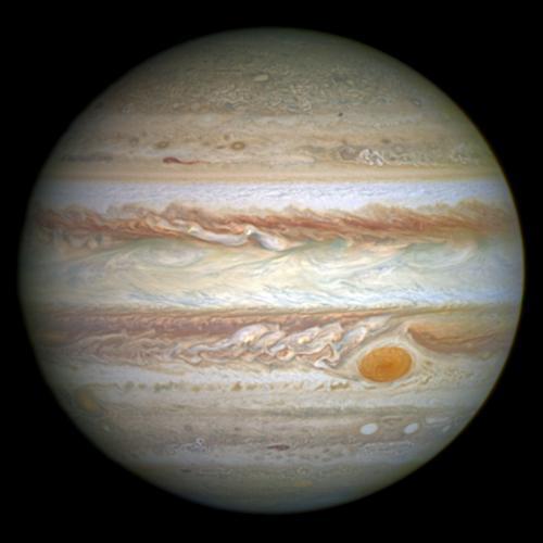 В Сеть попало фото легендарного Большого красного пятна Юпитера