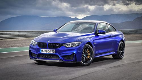 В России стартовали продажи 460-сильного купе BMW M4 CS