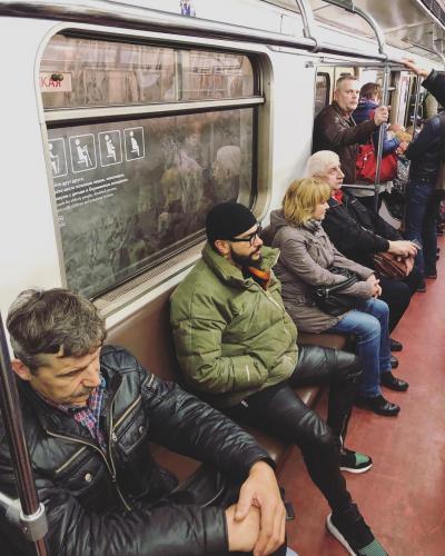 Московские пробки «загнали» Тимати в метро