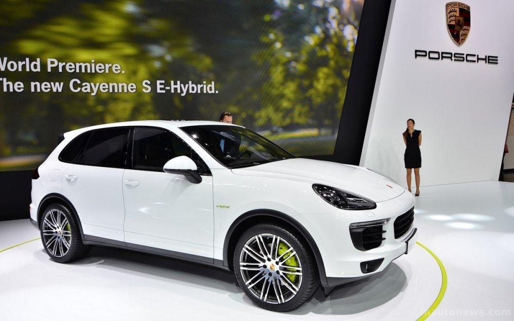 Компания Рorsche презентовала новый джип Cayenne E-Hybrid