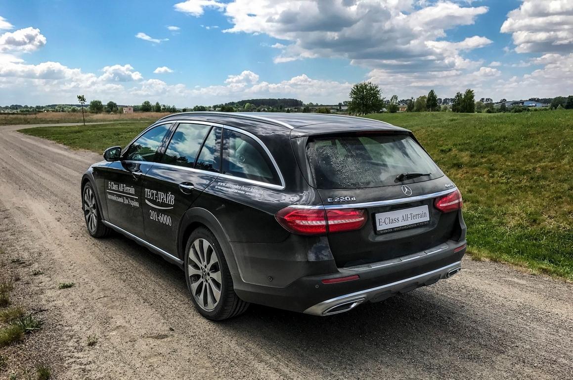 Неменее мощнейший Mercedes E-Class All-Terrain будет представлен осенью