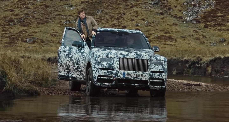 Rolls-Royce представит своей первый вистории кроссовер 10мая