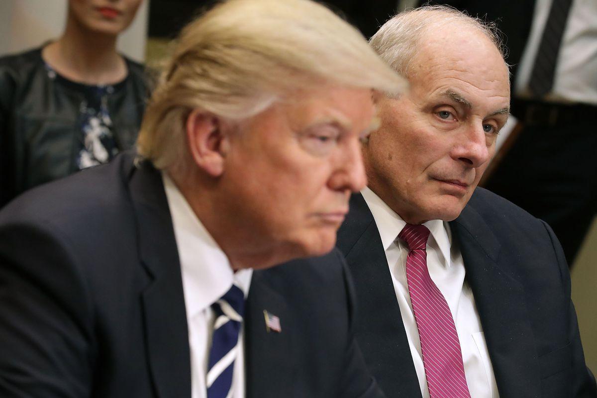 Шеф аппарата Белого дома опровергает приписываемую критику вотношении Трампа