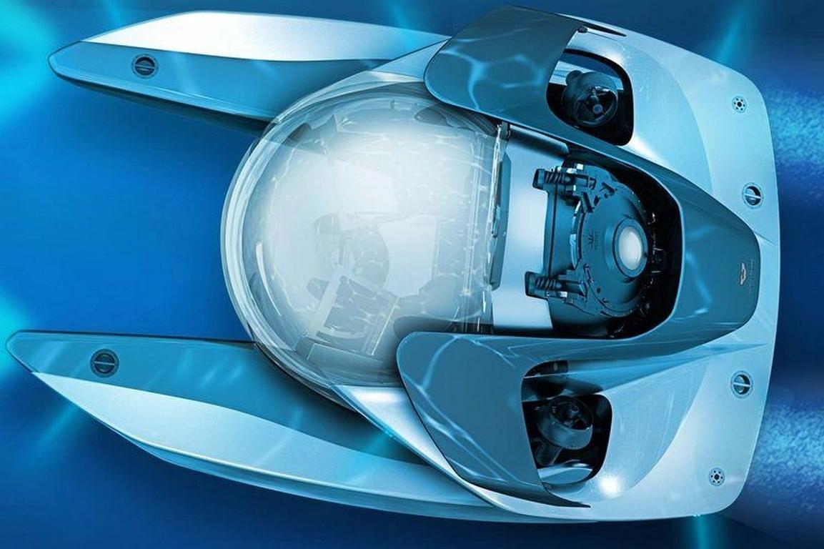 Астон Мартин представит подводный Neptune Submersible