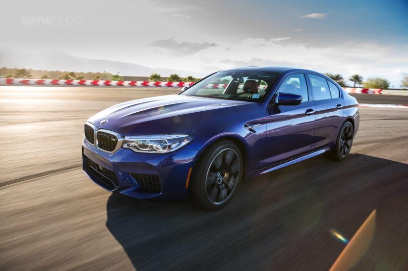 Седан BMW M5 Competition обогнал Е-класс от AMG