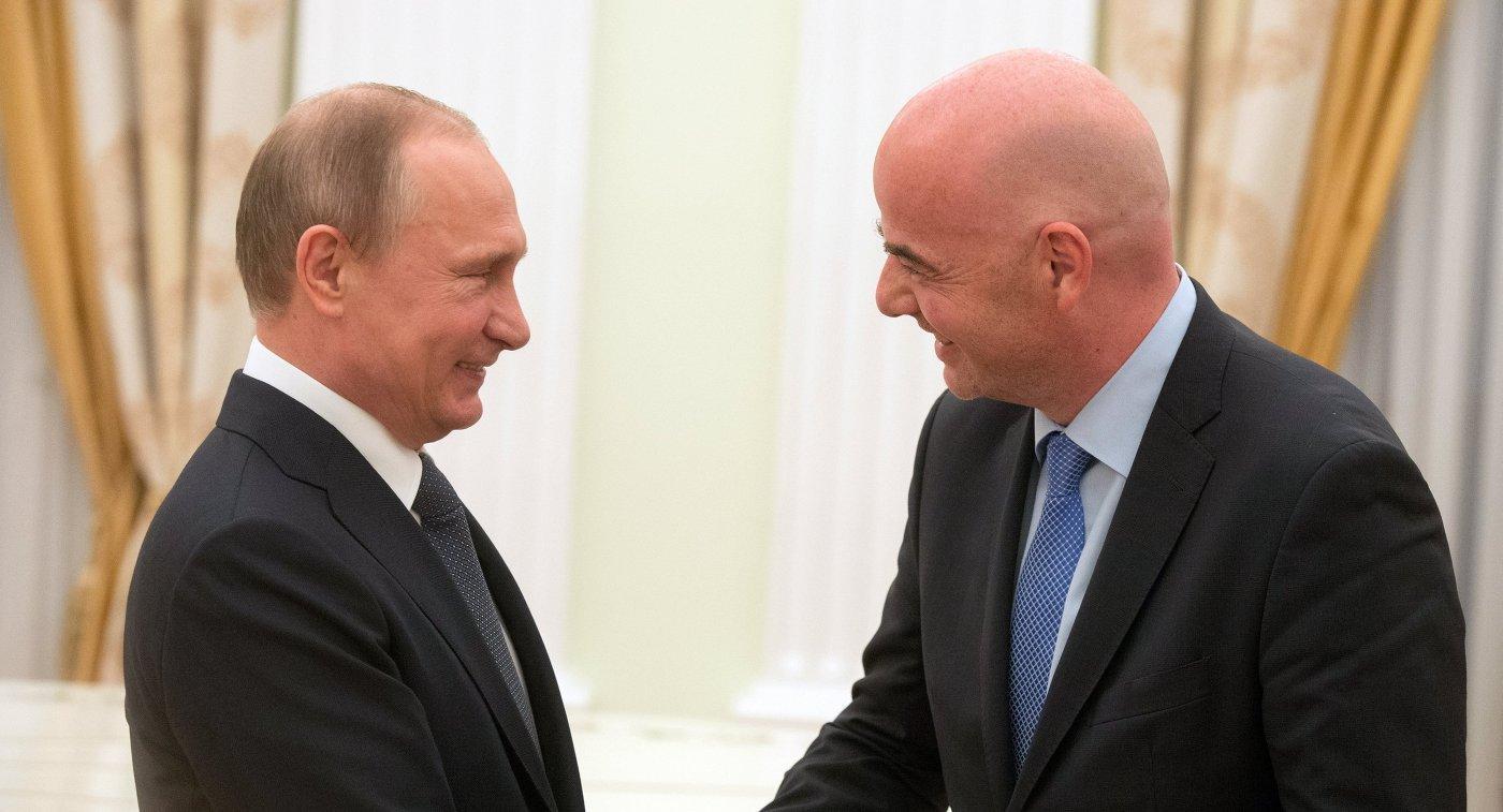 Российская Федерация готова кЧМ— Путин