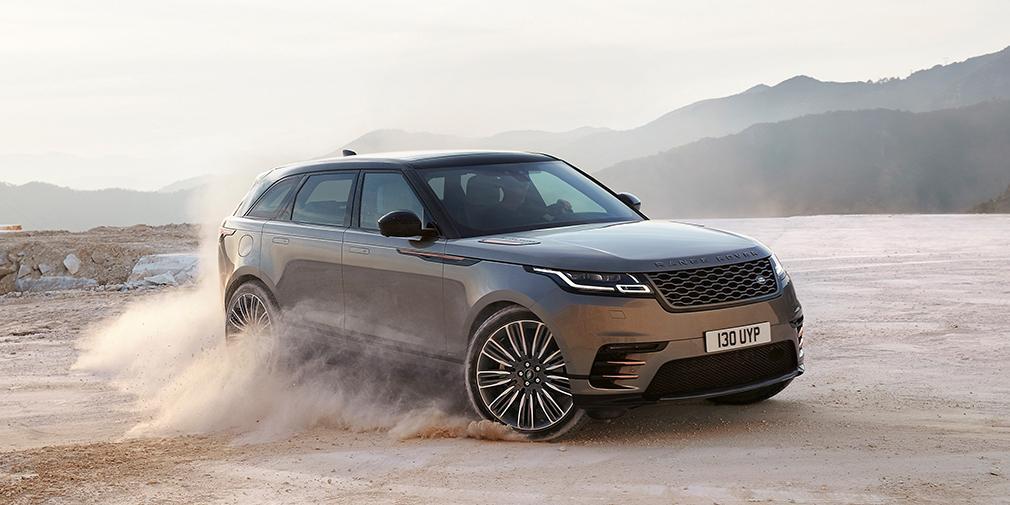 Дебютировал обновленный Range Rover Velar 2019