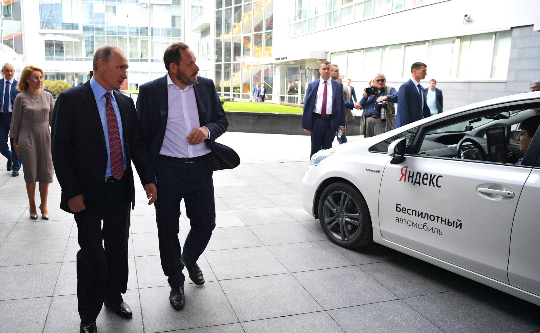 В РФ будут узаконивать тестирования робомобилей